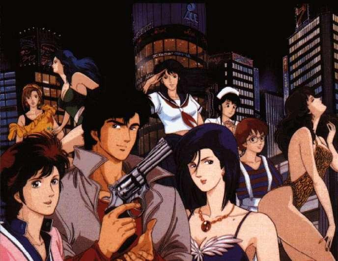 Un apercu du dessin animé« City Hunter» diffusé en France dans les années 1990 sous le nom de« Nicky Larson».