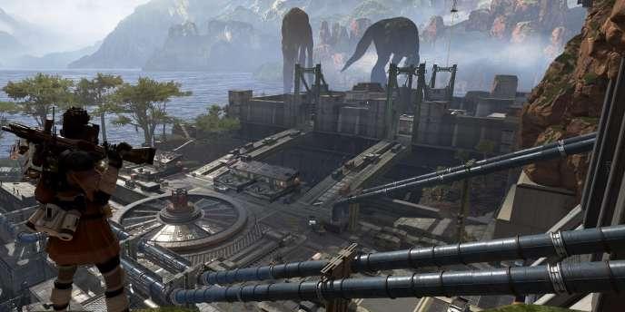 « Apex Legends» fait la part belle aux paysages vertigineux.