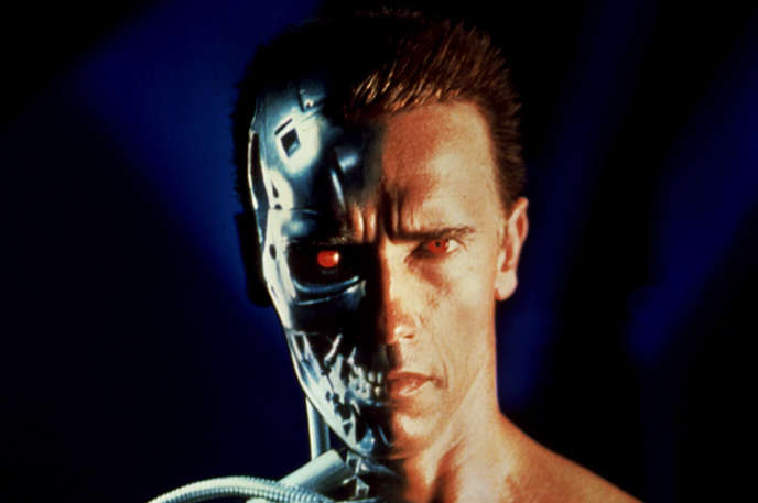Arnold Schwarzenegger dans « Terminator 2  : Judgment Day » (1991), de James Cameron.