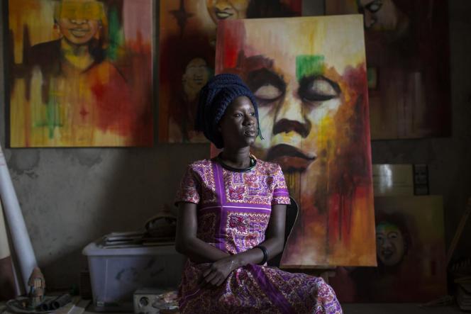 Amy Sow à Nouakchott, en Mauritanie.