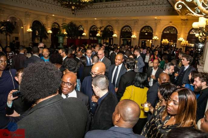 Gala du Club Efficience à l'hôtel InterContinental Paris Le Grand, le 18janvier 2019.
