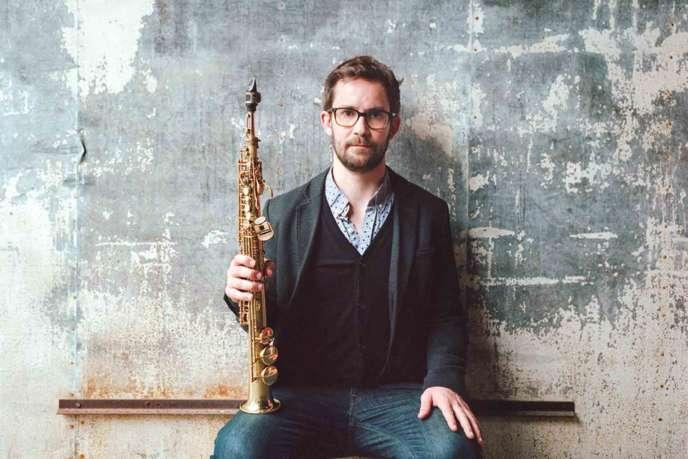 Le saxophonistesoprano Emile Parisien.