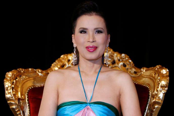La princesseUbolratana Rajakany est réputée très proche de son frère le roi.