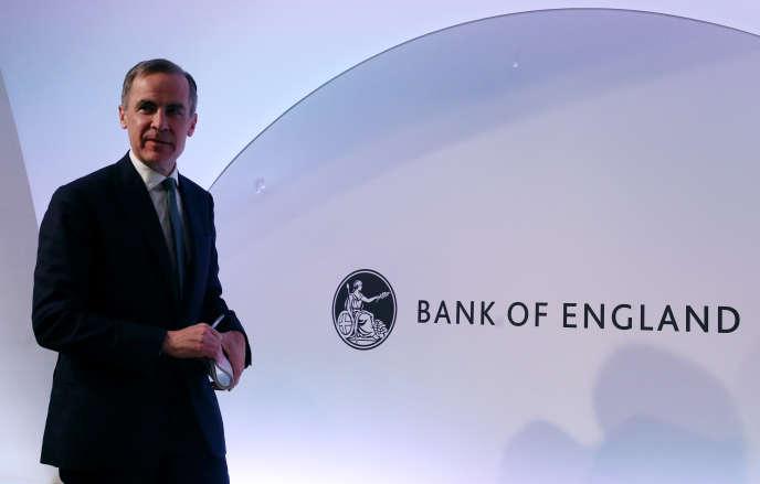 Le gouverneur de la Banque d'Angleterre, Mark Carney, à Londres, le 7 février.