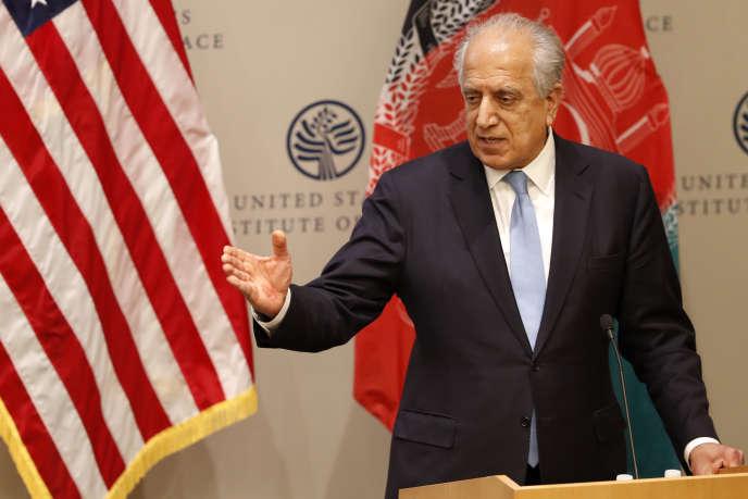 L'inviato degli Stati Uniti per la pace in Afghanistan, Zalmay Khalilzad, Washington, febbraio 8.