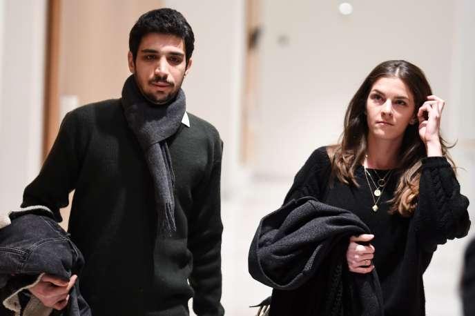 Georgios D. et Chloé P. étaient jugés vendredi 8 février pour des violences contre des policiers commises le 1er mai 2018.