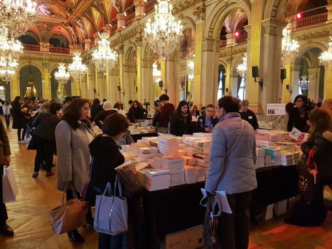 La 25e édition du salon Maghreb des livres se tient du 8 au 10 février 2019, à l'hôtel de ville de Paris.