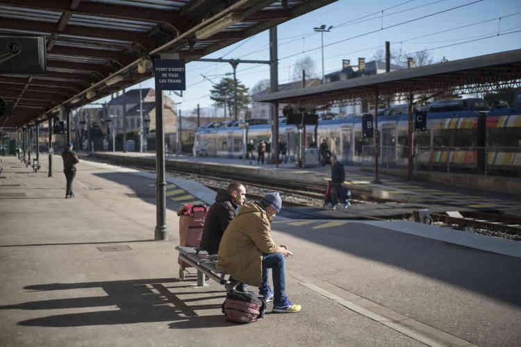 La gare de Saint-Dié-des-Vosges.