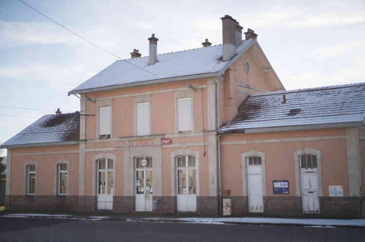 La gare de Bruyères n'est plus en fonctionnement depuis le 22 décembre 2018.