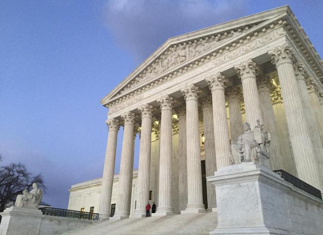 La Cour suprême de Washington, le13 février 2016.
