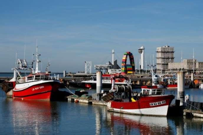 Port du Havre en 2018.