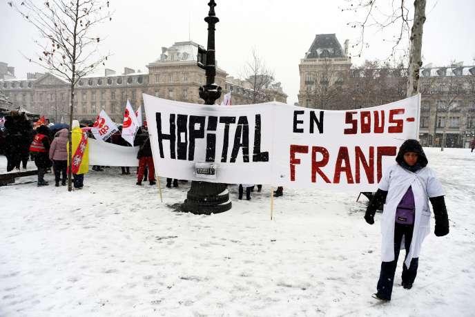 Manifestation à Paris le 22 janvier.