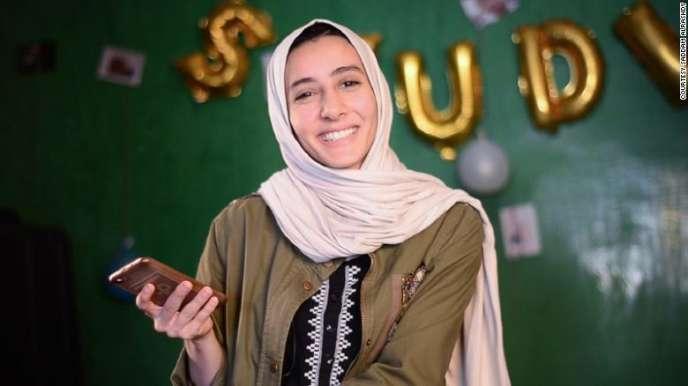 La Libyenne Fatoum Nasser.