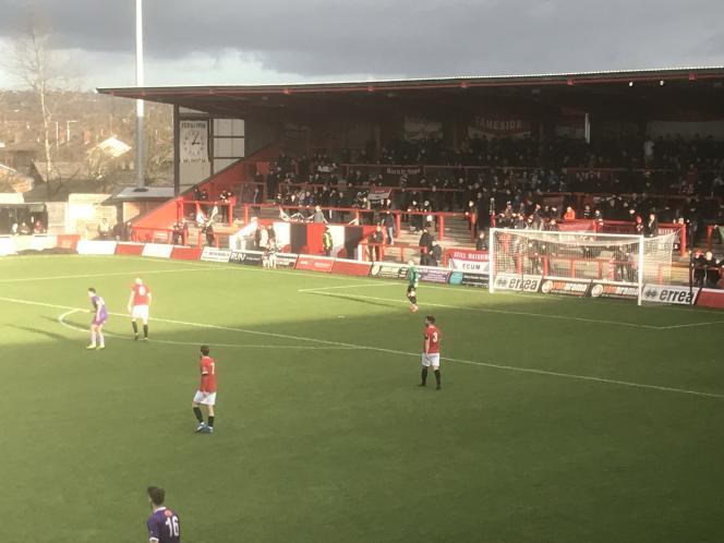 Le FC United of Manchester évolue en National League, la 6e division anglaise de football.