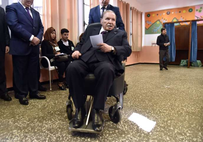 Le président algérien, Abdelaziz Bouteflika, le 23 novembre 2017.