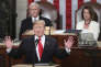 Le président Donald Trump lors de son discours sur l'état de l'Union, à Washington, le 5 février.