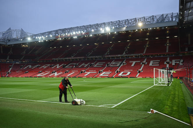 A Old Trafford, le 5 janvier.