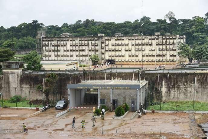 La Maison d'arrêt et de correction d'Abidjan (MACA), en Côte d'Ivoire, en septembre 2018.