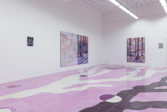 La galerie Hannah Barry, qui expose de nouveaux talents.