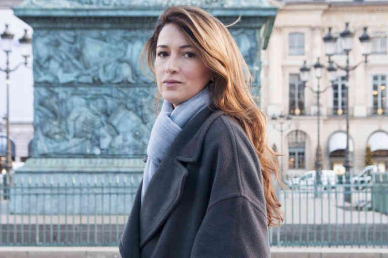 Zineb El Rhazoui, place Vendôme, le 8 janvier 2019 à Paris.