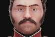 Reconstruction faciale d'un soldat napoléonien de la Campagne de Russie.