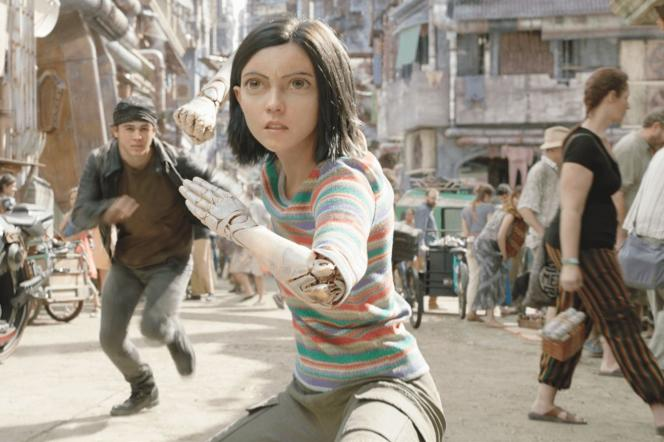 Rosa Salazar dans« Alita : Battle Angel», de Robert Rodriguez.
