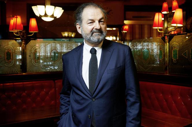 Denis Olivennes, le 8 février à Paris.