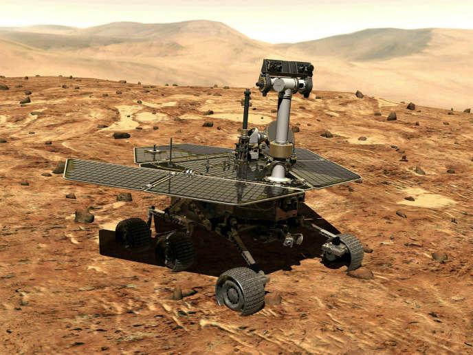 La NASA confirme la mort du robot martien Opportunity