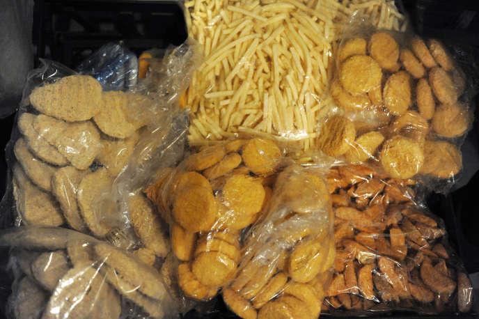 Les nuggets comme d'autres aliments congelés font partie des aliments ultra-transfomés.