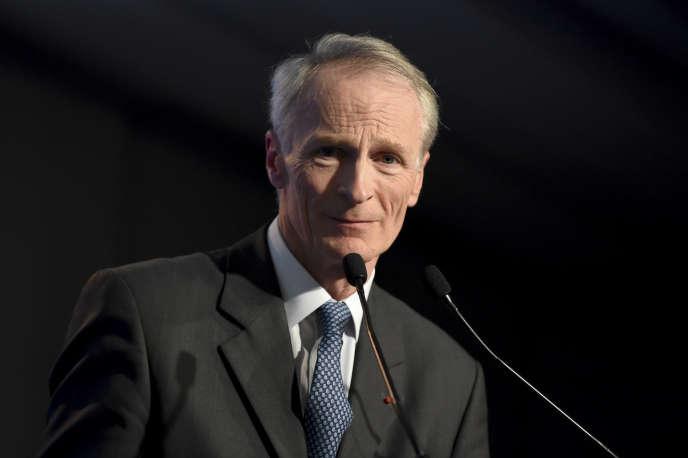 Jean-Dominique Senard, le nouveau président de Renault, à Paris, le 11 février.