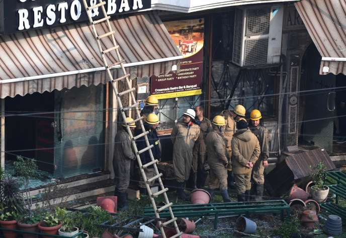 Une enquête va être ouverte pour déterminer les causes de l'incendie.