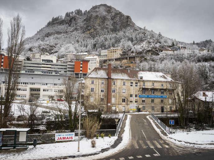 Le centrehospitalierLouis-Jallonde Saint-Claude(Jura), dont la maternité s'est vue retirer son autorisation,le 30 janvier.