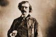 Jules Barbey d'Aurevilly, photographié par Nadar, vers1860-1865.