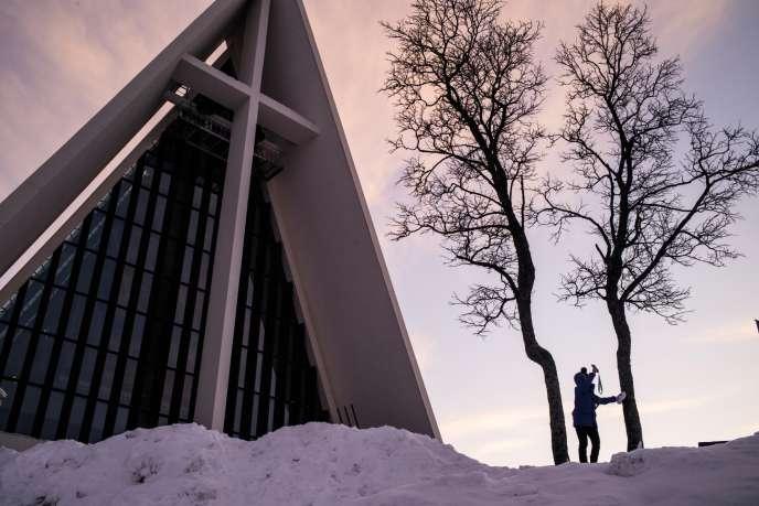 L'église luthérienne de Tromso, dessinée par l'architecte Jan Inge Hovig.