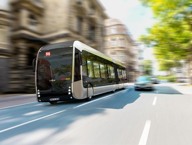 Le Febus, bus à haut niveau de service de Pau.
