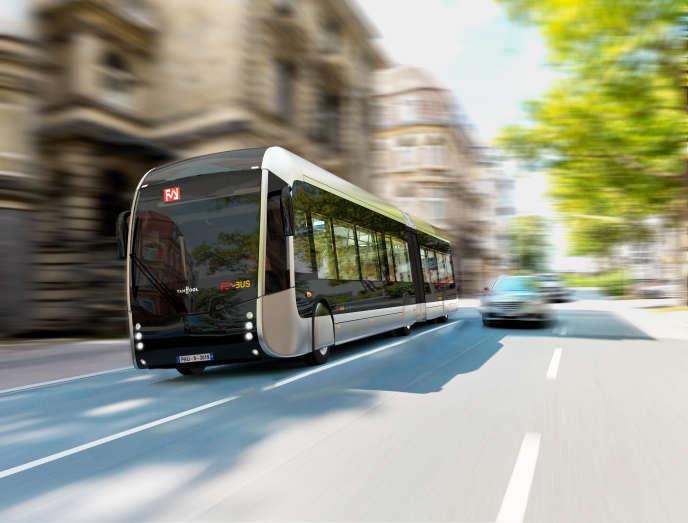 dans les villes moyennes, le succès des bus déguisés en tramway