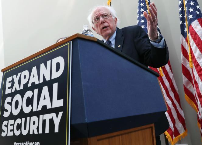 Le sénateur démocrate Bernie Sanders le 13 février à Washington.