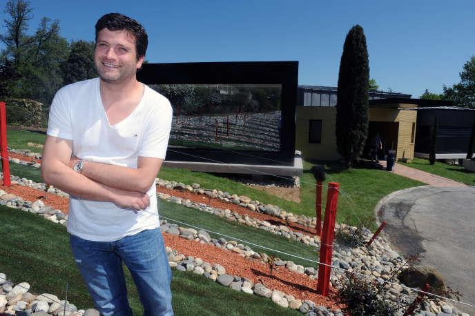 Yannick Delpech, le 9 mai 2012.