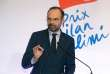 Le premier ministre Edouard Philippe lors de la remise du prix Ilan-Halimi contre l'antisémitisme, le 12 février à Paris.