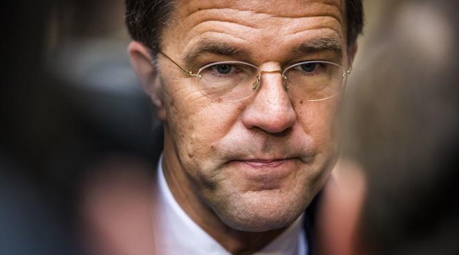 Mark Rutte à La Haye, le 16 janvier.