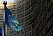 Devant les locaux de la Commission européenne à Bruxelles, en novembre 2018.