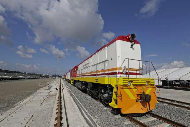 Les nouvelles locomotives de Kenya Railways