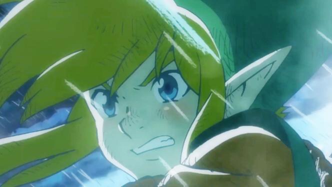 Link dans la nouvelle introduction animée de« Link's Awakening». Choupitude : 9/10.