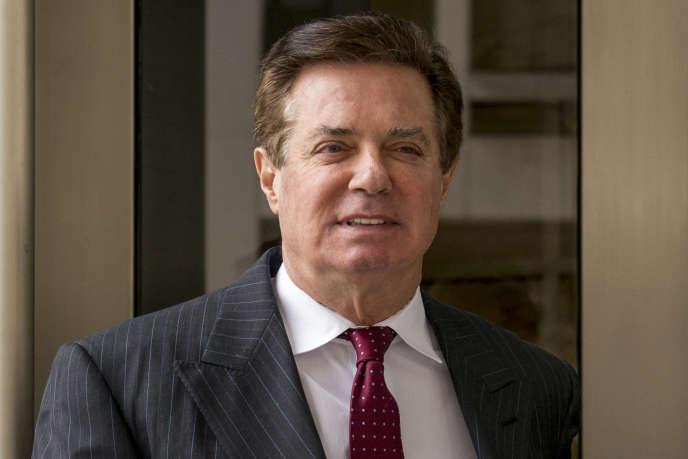 Le lobbyiste Paul Manafort a brièvement dirigé l'équipe de campagne du républicain Donald Trump en 2016.