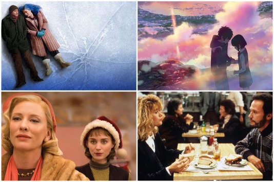 Des films pour pleurer, pour rire, qui donnent envie d'aimer, ou de se séparer le soir de la Saint-Valentin.
