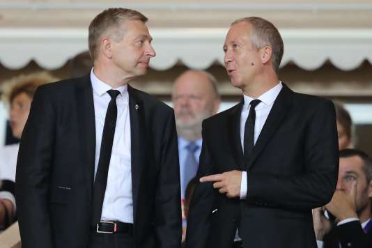 Dmitry Rybolovlev et Vadim Vasilyev, en septembre 2018.