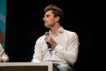 """Arnaud Jerald, vice-champion du monde d'apnée, participait aux conférences O21 du """"Monde"""", le 5 février 2019 à Marseille."""