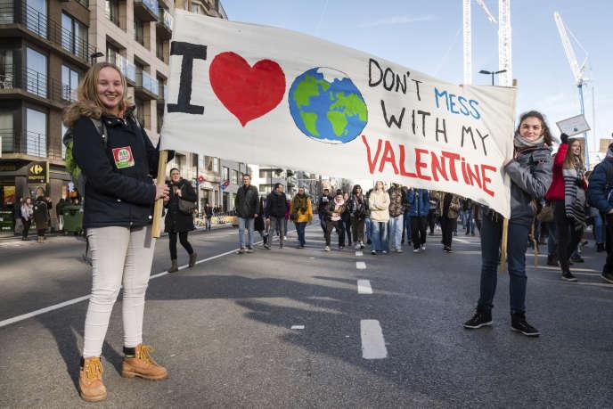 A Bruxelles, jeudi 14 février.