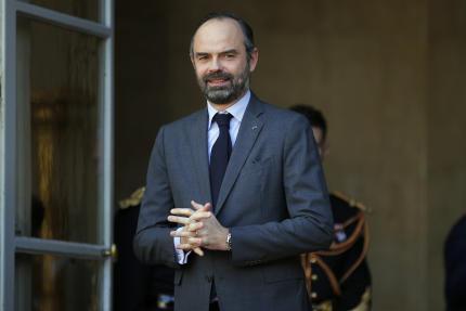 Le premier ministre Edouard Philippe à Matignon, le 14 février.