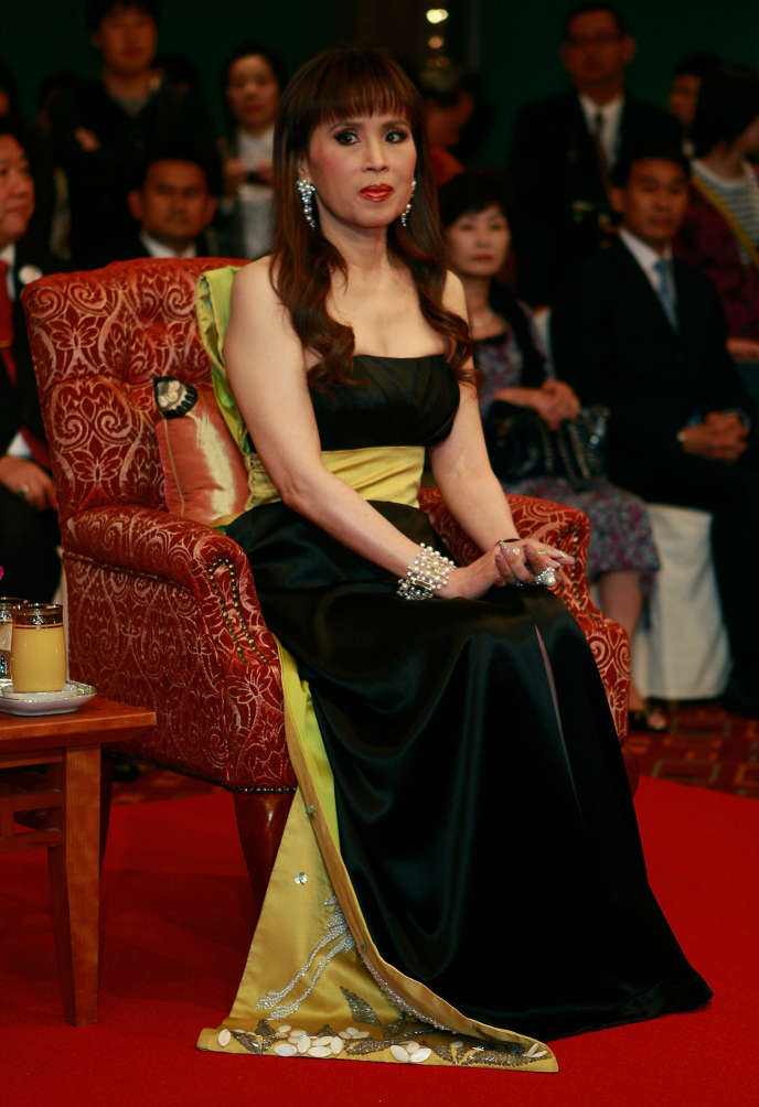 La princesse Ubolratana Rajakanya au Grand Hotel lors du 15e Festival international du film de Pusan, en octobre 2010 à Busan, Corée du Sud.